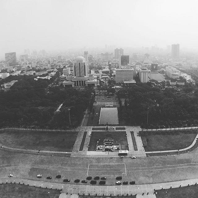 #Jakarta #blackandwhite