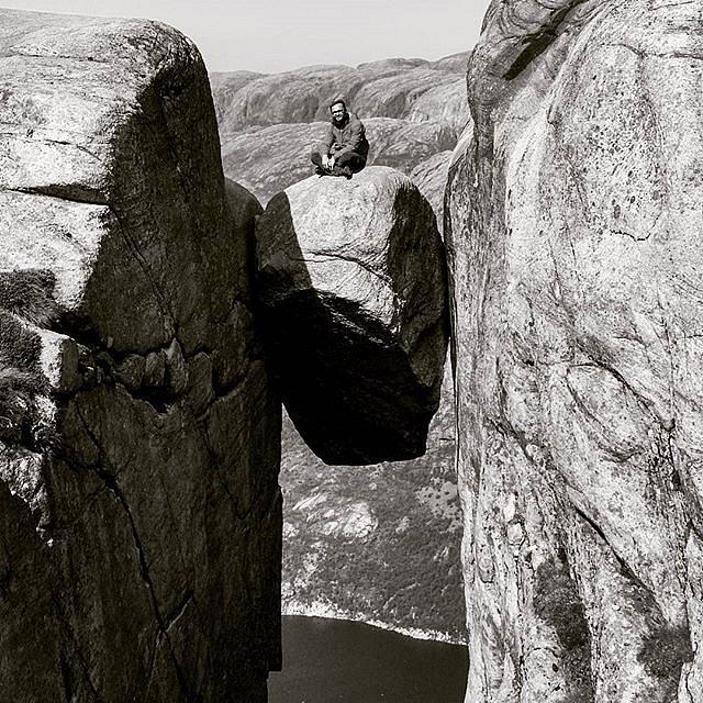 #Kjeragstone #Kjeragbolten #hikingadventures #hikinglife
