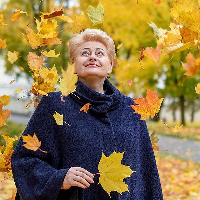 #Perfectday in #office #DaliaGrybauskaitė